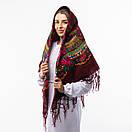 Українська хустка з тороками 120х120см, фото 9