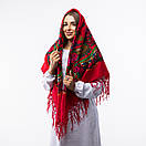 Українська хустка з тороками 120х120см, фото 3