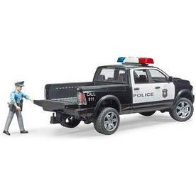 BRUDER Игрушка - полицейский пикап Wrangler с полицейским (02505)
