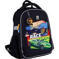 Рюкзак школьный каркасный Kite Education HW21-555S Hot Wheels