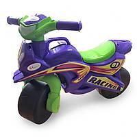 Толокар мотоцикл Doloni 0139/1/6 музичний (фіолетовий)