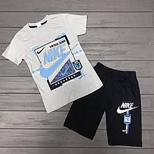 Комплект Футболка и шорты  для мальчиков оптом р.5-8 лет