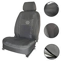 """Чехлы на сиденья Volkswagen T5 2003- (1+1) +подлокотники / автомобильные чехлы на Фольксваген Т5 """"Nika"""""""