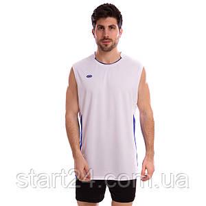 Форма волейбольная мужская 6503M (полиэстер, р-р M-4XL-155-185см(50-80кг), цвета в ассортименте)