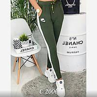 """Спортивні штани жіночі НАЙК, розміри SM-ML """"LAIM"""" купити недорого від прямого постачальника"""