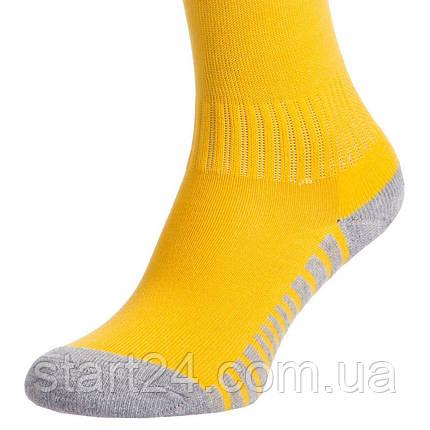 Гетры детские с символикой футбольного клуба BARCELONA AWAY 2020 ETM2001-BAR2 (размер 32-39, желтый), фото 2