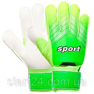Перчатки вратарские 920 SPORT (PVC, р-р 8-10, цвета в ассортименте)