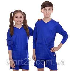 Форма футбольная подростковая с длинным рукавом SP-Sport CO-1908B-1 (PL, р-р 24-30, 120-150см, цвета в