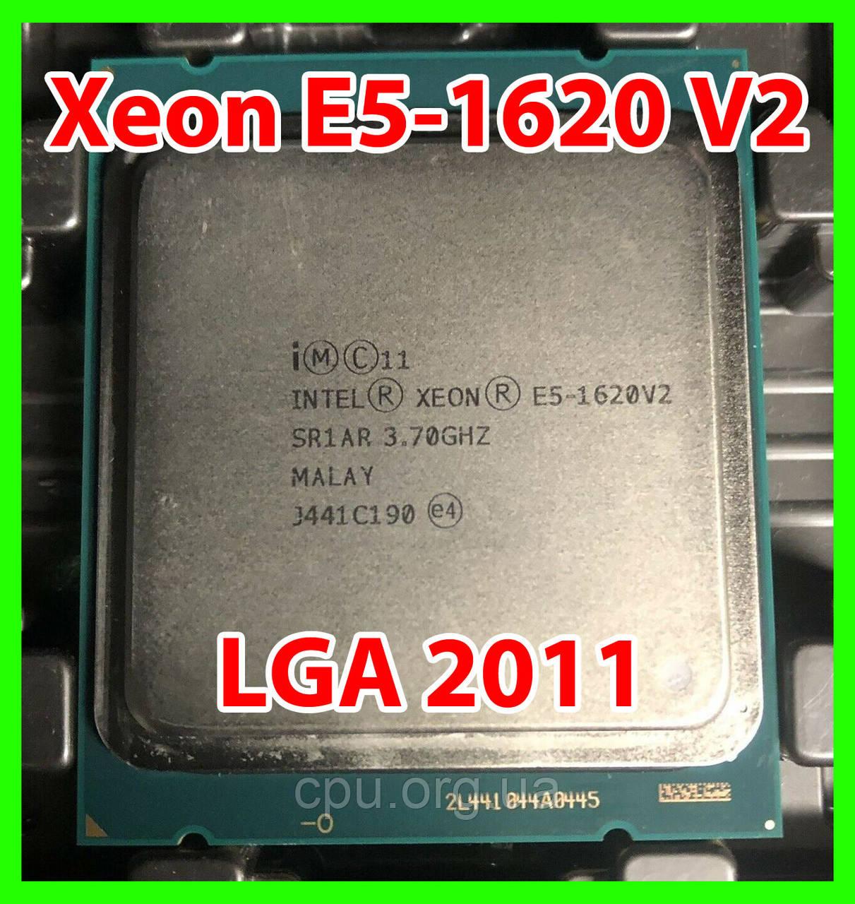 Процесор Intel Xeon E5-1620 V2 LGA 2011 (SR1AR) 4 ядра 8 потоків 3,70-3,90 Ghz / 10M / IvyBridge