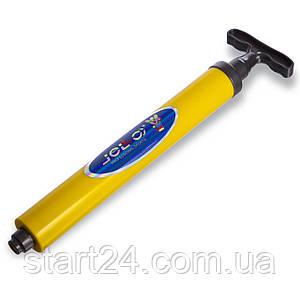 Насос ручний для м'ячів JELLO JLA-013 (пластик, l-34см)