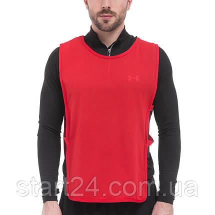 Манишка для футболу чоловіча з гумкою (сітка) CO-1676 (PL, р-р L-68x43+20см, кольори в асортименті), фото 2