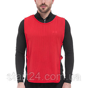 Манишка для футбола мужская с резинкой (сетка) CO-1676 (PL, р-р L-68x43+20см, цвета в ассортименте)