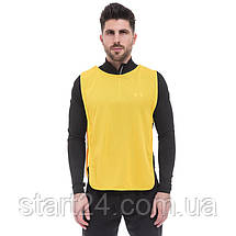 Манишка для футболу чоловіча з гумкою (сітка) CO-1676 (PL, р-р L-68x43+20см, кольори в асортименті), фото 3