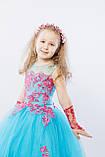 Длинное нарядное платье Кружево на 5-6 лет, фото 8