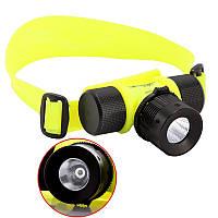Налобный фонарь для дайвинга BL-56 6800 Green
