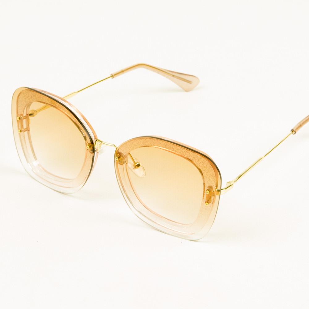 Оптом солнцезащитные очки со стеклянной линзой - 1817/1