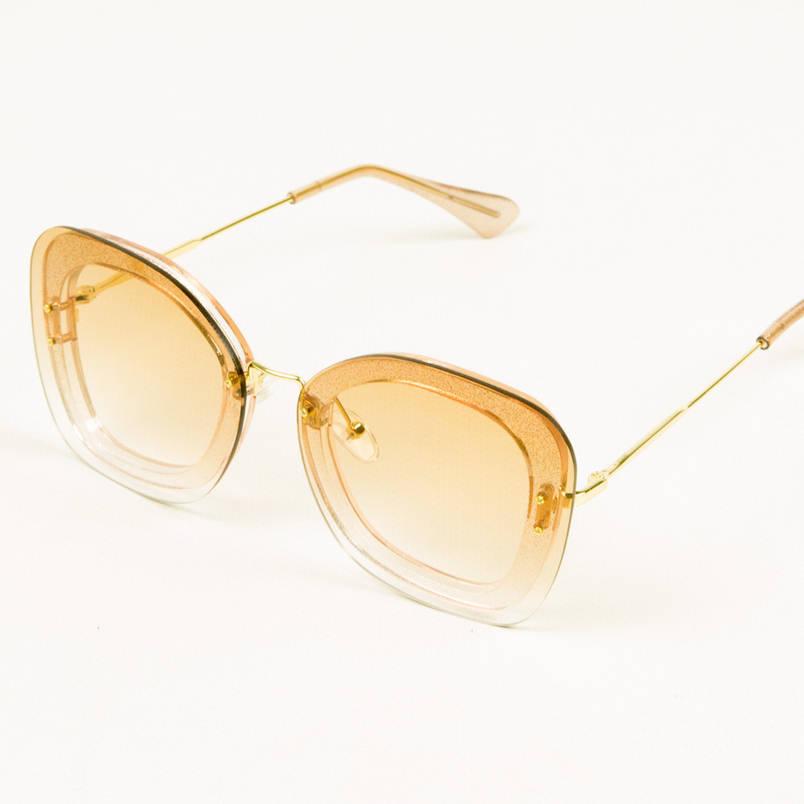 Оптом солнцезащитные очки со стеклянной линзой - 1817/1, фото 2