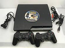 PlayStation 3 Slim CECH-2508A 160GB с двумя Геймпадами