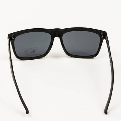 Оптом брендові сонцезахисні окуляри Gucci (репліка) - Чорні - 2011, фото 3
