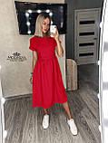 "Женское платье с короткими рукавами ""Валенсия""  Норма и батал, фото 9"