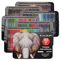 180 цветов самый большой набор цветных карандашей Art Planet