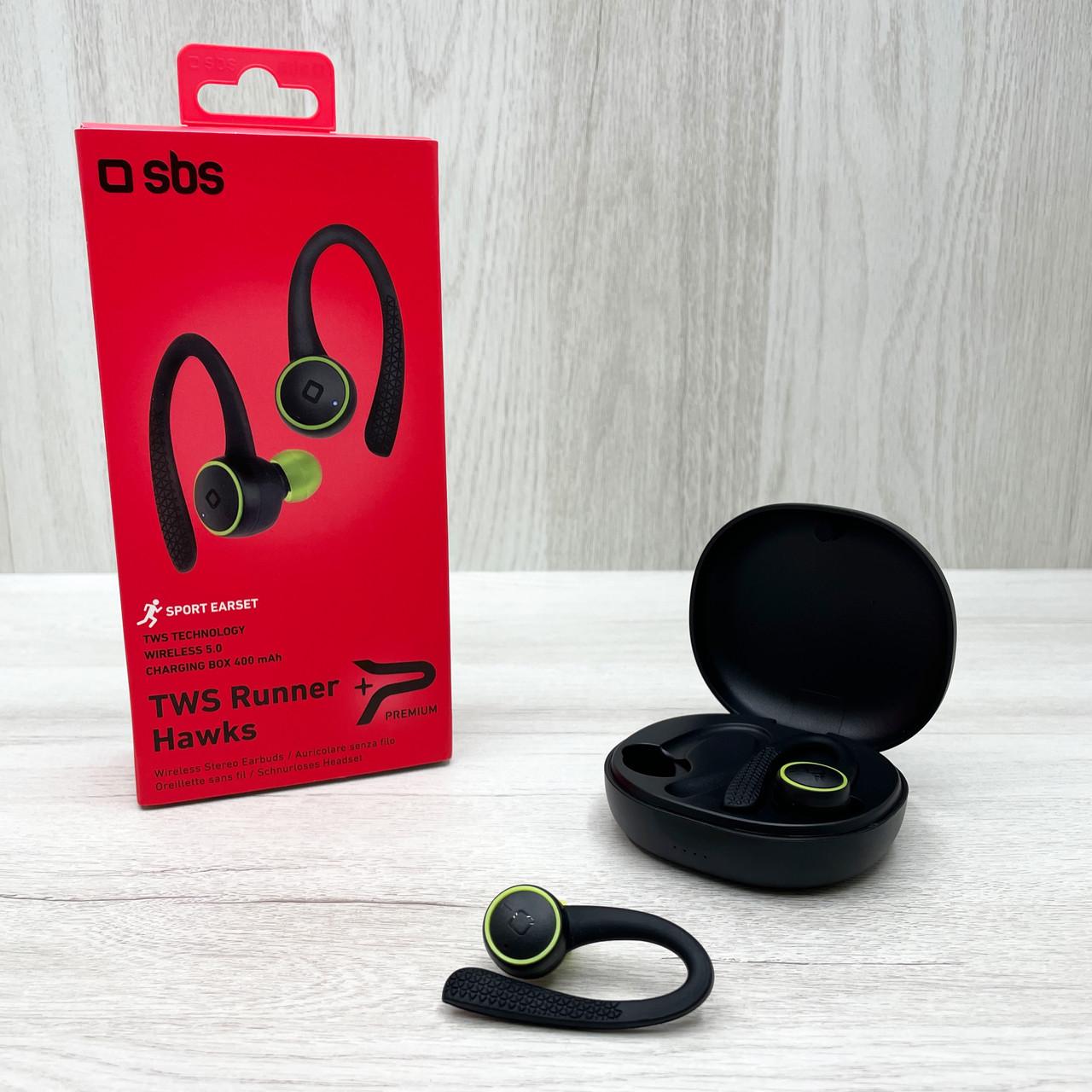 Бездротові навушники Sbs TWS Runner Hawks (чорні)