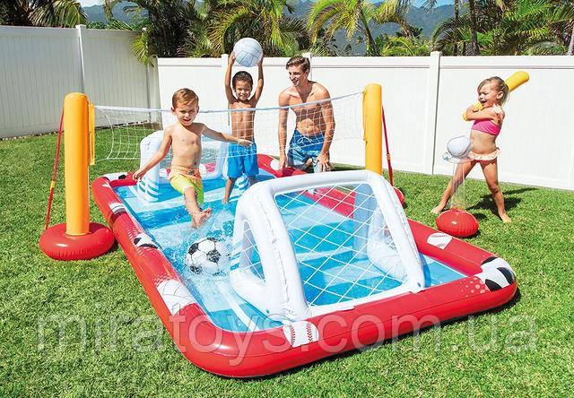 Надувний ігровий центр - басейн Intex 57147
