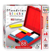 Блоки Мондриана красная Настольная игра головоломка Eureka! Ah!Ha Бельгия