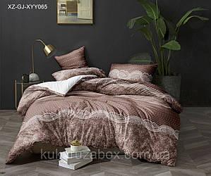 Семейный комплект постельного белья 150*220 из сатина Мираж