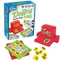 Зинго 1-2-3 Детская настольная игра ThinkFun США