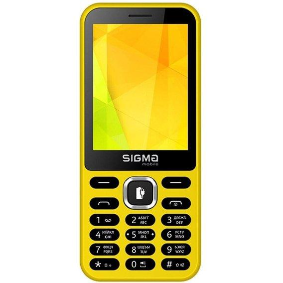 Sigma mobile X-style 31 Power Yellow