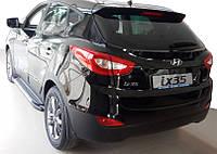 Hyundai IX-35 2010-2015 гг. Боковые пороги Line (2 шт., алюминий)
