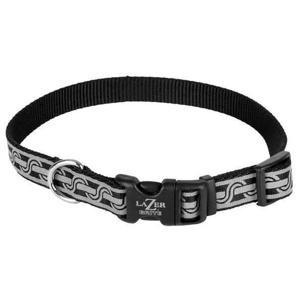 Coastal Lazer Brite Reflective Collar КОСТАЛ ЛАЗЕР БРАЙТ светоотражающий ошейник для собак, 1.6х30-46см