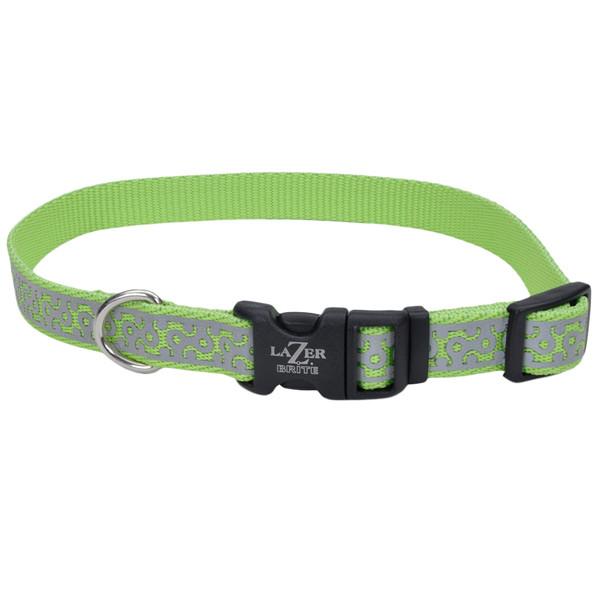 Coastal Lazer світло-відображає нашійнік для собак, 1,6смХ30-45см