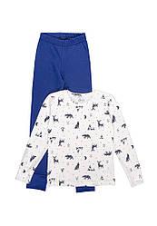 Пижама для мальчика теплая начес