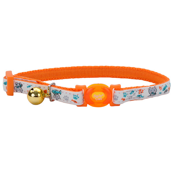 Coastal Fashion Safe Cat Collar КОСТАЛ светящийся безопасный ошейник для котов