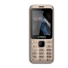 Sigma mobile X-Style 33 Steel Gold