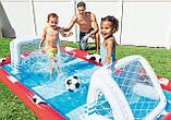 Надувний ігровий центр - басейн Intex 57147 «Спортивний ігровий центр», 325 х 267 х 102 см, фото 4