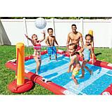 Надувний ігровий центр - басейн Intex 57147 «Спортивний ігровий центр», 325 х 267 х 102 см, фото 5