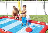 Надувний ігровий центр - басейн Intex 57147 «Спортивний ігровий центр», 325 х 267 х 102 см, фото 6