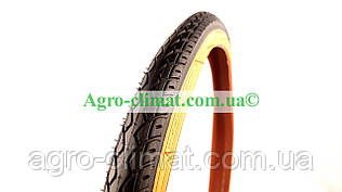 Резина вело. 24*1,75 (47-507) SRC дорожняя,(оранжевий корд)