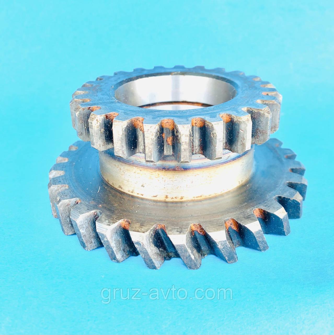 Шестірня ведуча або зовнішня КОМ ГАЗ-53 коробки відбору потужності/ косий зуб Z-26 прямий зуб Z-23 / 53б-4202010