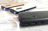 Мощный Повер банк Power Bank 40000 mAh 3 USB внешний аккумулятор для телефона с фонариком и дисплеем, фото 2