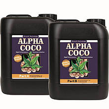 Комплект удобрений для кокосового субстрата Growth Technology Alpha Coco A&B 2 по 5 л