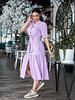 Льняное платье миди 053 В /03, фото 1
