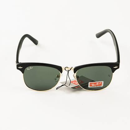 Оптом солнцезащитные очки Рей Бен Клабмастер унисекс со стеклянной линзой - 3016-2, фото 2