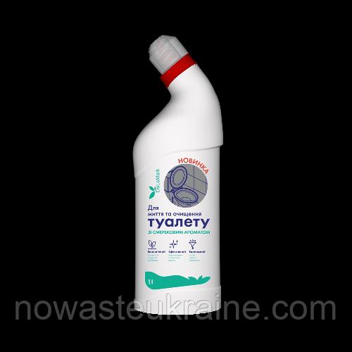 Еко-засіб для миття і очищення туалету DeLaMark зі смерековим ароматом, 1 л