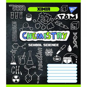 Зошит 48арк. кліт. YES Предметка-Хімія (Doodle board) виб.гібрид,лак №764850(5)(200)