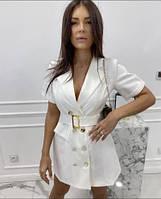 Женское летнее платье пиджак новинка 2021