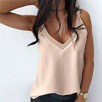 Стильная летняя нежная женская блузка. Размер: 42-46, 48-52. Цвет: черный, белый, бежевый.